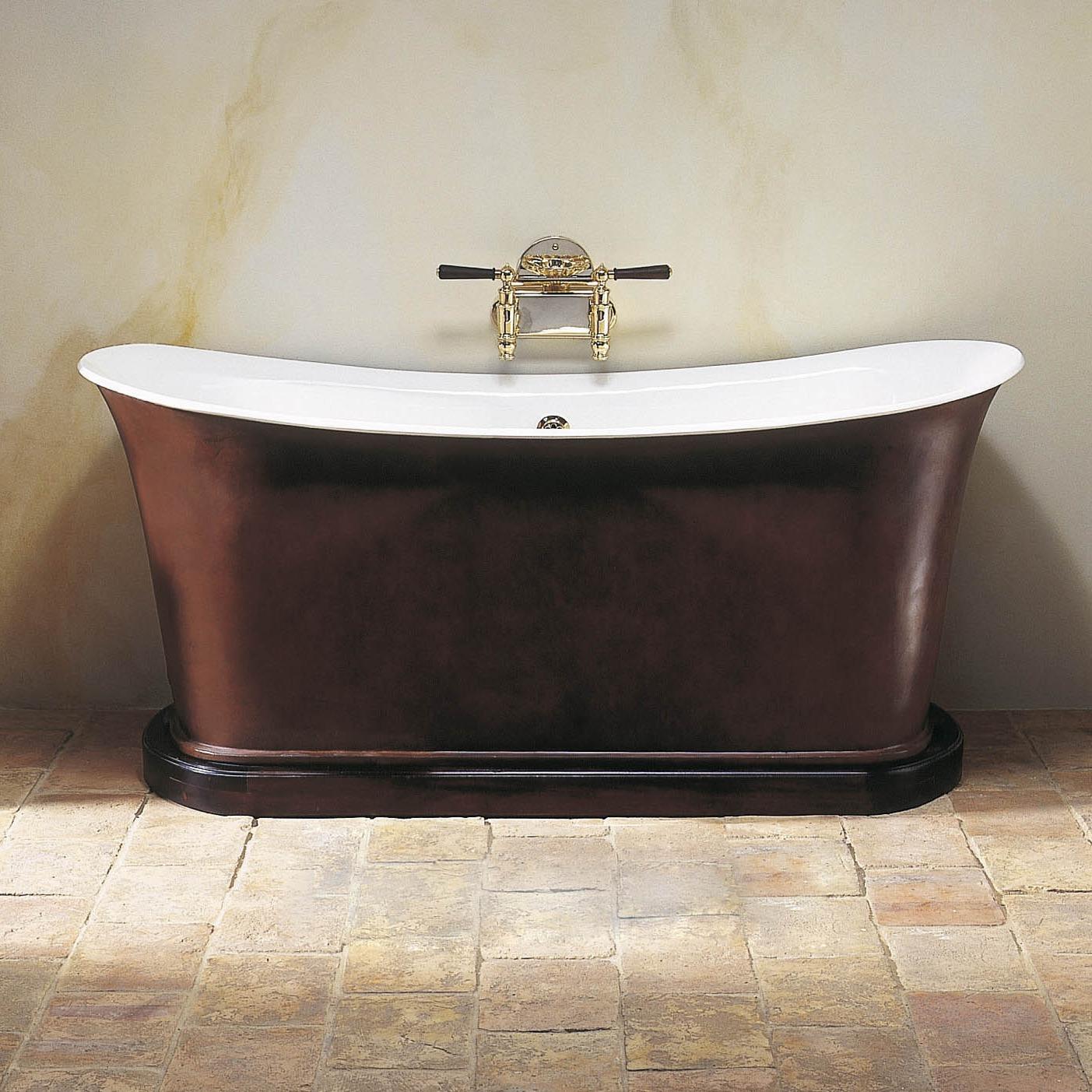 Empire Bath In Plinth